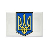 Ukraine: Heraldic Rectangle Magnet (100 pack)