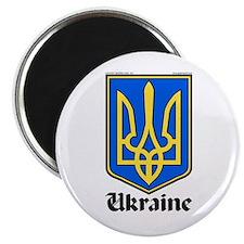 """Ukraine: Heraldic 2.25"""" Magnet (100 pack)"""