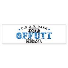 Offutt Air Force Base Bumper Bumper Sticker