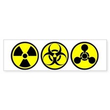 WMD / Chemical Weapons Bumper Bumper Sticker