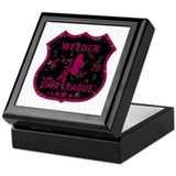 Welder Diva League Keepsake Box