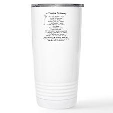A Theatre Dictionary Travel Mug