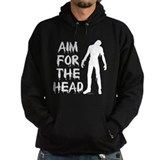 Aim For The Head Zombie Hoody