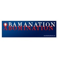 Obamanation Bumper Bumper Sticker
