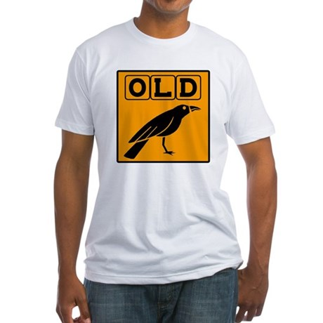 Old Crow Fitted T-Shirt