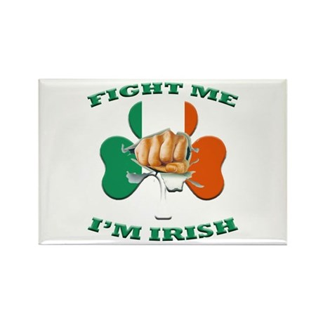 St. Patrick's Day - Fight Me I'm Irish Rectangle M
