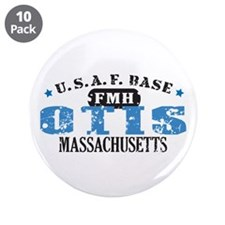 "Otis Air Force Base 3.5"" Button (10 pack)"