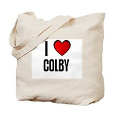 I LOVE COLBY Tote Bag