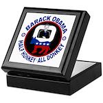 Barack Obama - Half Honkey, All Donkey Keepsake Bo