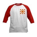 Orange Jack Kids Baseball Jersey