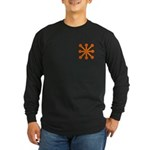 Orange Jack Long Sleeve Dark T-Shirt