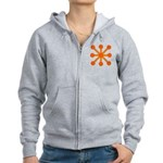 Orange Jack Women's Zip Hoodie