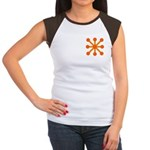 Orange Jack Women's Cap Sleeve T-Shirt
