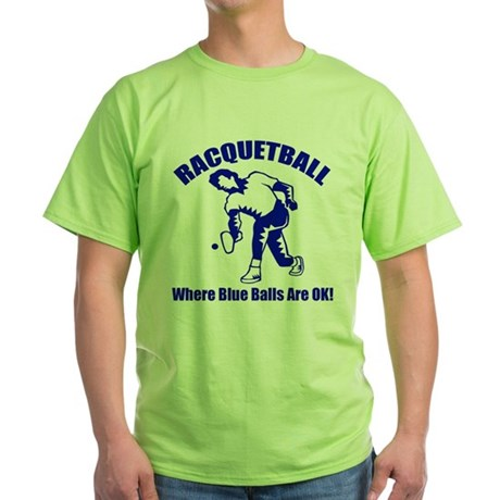 Racquetball Green T-Shirt