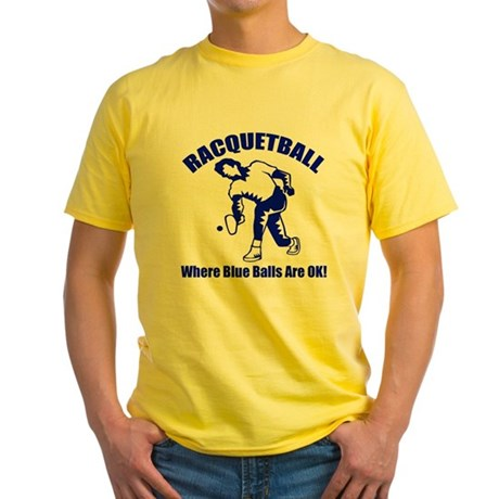 Racquetball Yellow T-Shirt