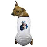 Uncle Sam Middle Finger Dog T-Shirt