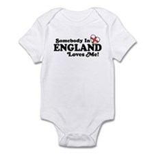 Somebody in England Loves Me Infant Bodysuit
