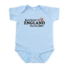 Somebody in England Loves Me Infant Bodysuit