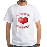 35th Anniversary Heart Gift Shirt