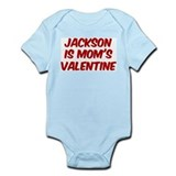 Jacksons is moms valentine Infant Bodysuit