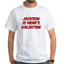 Jacksons is moms valentine Shirt