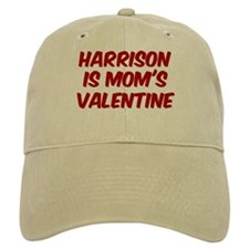 Harrisons is moms valentine Baseball Cap