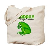 Toadally Vegetarian Shopper Bag