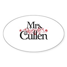 Mrs. Cullen Oval Decal