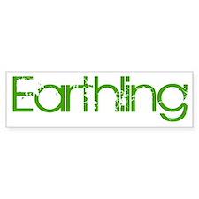 Earthling Bumper Bumper Sticker