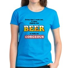 Slightly Less Beer Tee