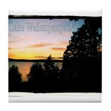 Lake Wallenpaupack Tile Coaster