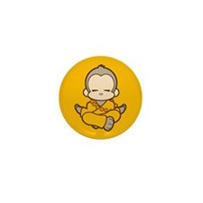 Mini Shaolin Monkey Button