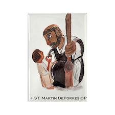 Saint Martin DePorres OP Rectangle Magnet