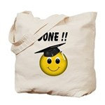 GraduationSmiley Face Tote Bag