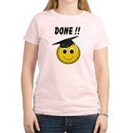 GraduationSmiley Face Women's Light T-Shirt