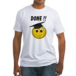 GraduationSmiley Face Fitted T-Shirt