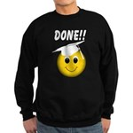 GraduationSmiley Face Sweatshirt (dark)