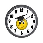 GraduationSmiley Face Wall Clock