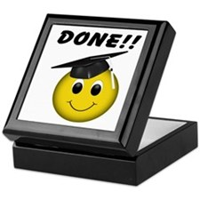 GraduationSmiley Face Keepsake Box