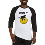 GraduationSmiley Face Baseball Jersey