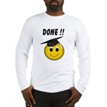 GraduationSmiley Face Long Sleeve T-Shirt