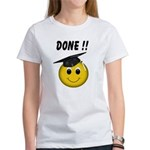 GraduationSmiley Face Women's T-Shirt