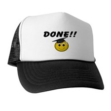 GraduationSmiley Face Trucker Hat