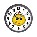 Smiley Nurse Wall Clock