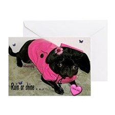 Rain or Shine Valentine Greeting Card