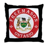 Ontario Mason Throw Pillow