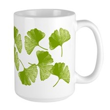 Ginkgo Leaves Large Mug