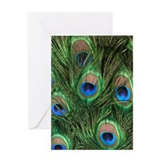 Sympathy Card with Peacock Feathers