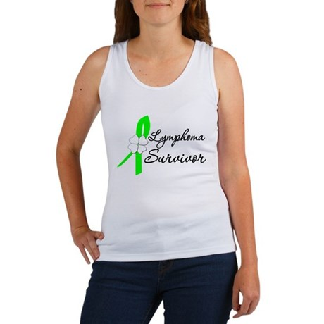 Lymphoma Survivor Women's Tank Top