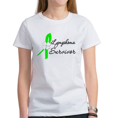 Lymphoma Survivor Women's T-Shirt